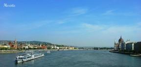 Vista de las dos orillas desde el puente