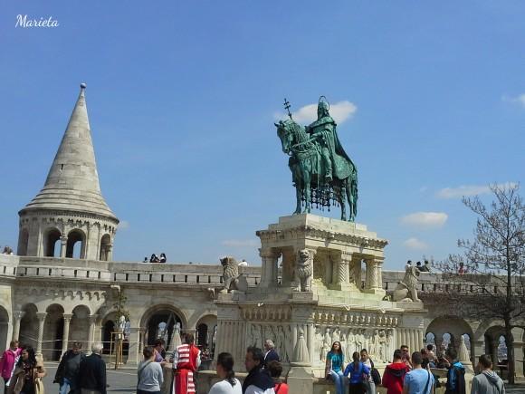 Estatua de Esteban I de Hungría