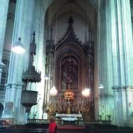 Interior de la iglesia Minorita