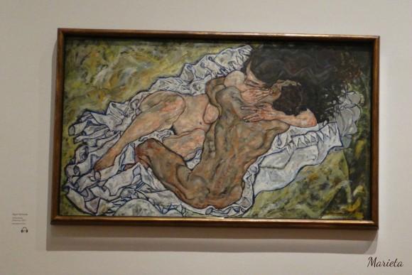 """""""El abrazo"""" de Schiele"""