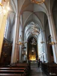 Interior de la iglesia de los Agustinos