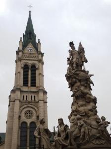 Iglesia de Blumental y Columna de san Florian