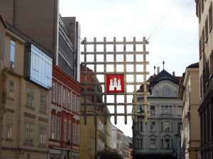 La preciosa calle Laurinska
