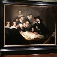 """""""Lección de anatomía"""" de Rembrandt"""