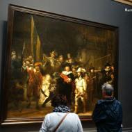 """""""Ronda de noche"""" de Rembrandt"""