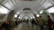 Estación de Belorusskaya. (Línea 5). Inaugurada en 1938