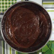 Primera capa de chocolate negro