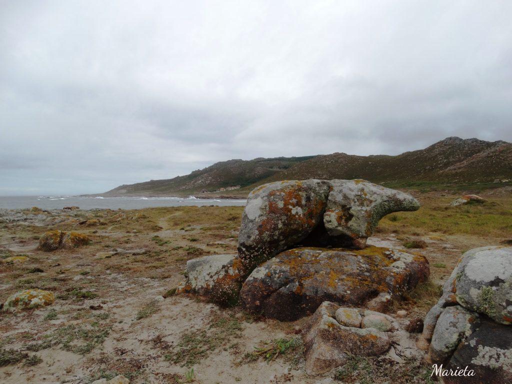 Pedra do Oso en Punta Forcados